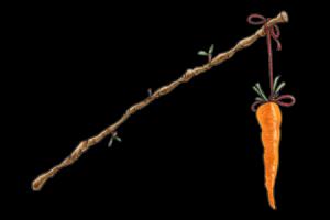 Hoovering narcisista - zanahoria en un palo
