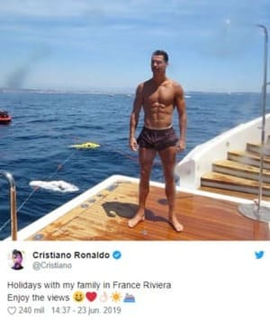 Personalidad narcisista ejemplos - Cristiano Ronaldo